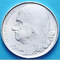 Чехословакия 100 крон 1977 год. Вацлав Холлар. Серебро