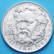 Чехословакия 100 крон 1984 год. Ян Неруда. Серебро