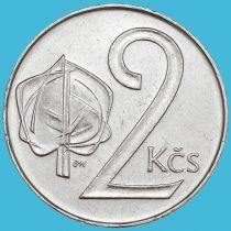 Чехословакия 2 кроны 1991 год.