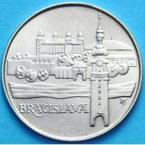 Чехословакия 50 крон 1986 год. Братислава. Серебро