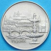 Чехословакия 50 крон 1986 год. Прага. Серебро