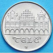 Чехословакия 50 крон 1986 год. Телч. Серебро