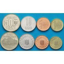 Румыния набор 4 монеты 2015 г. №2