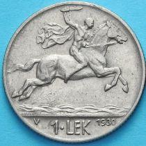 Албания 1 лек 1930 год. Всадник.