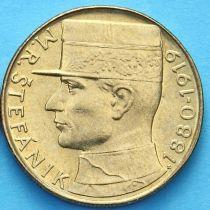 Чехословакия 10 крон 1991 г. Милан Штефаник