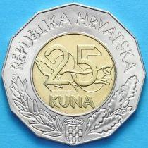 Хорватия 25 кун 2011 год. Договор с ЕС.