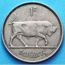Ирландия 1 шиллинг 1955 год. Бык.