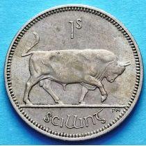 Ирландия 1 шиллинг 1951-1968 год. Бык. XF.