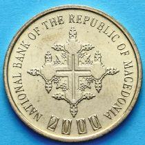 Македония 1 денар 2000 год. Миллениум