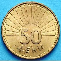 Македония 50 дени 1993 год. Чайка.