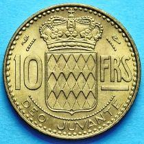 Монако 10 франков 1950 год.
