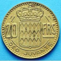 Монако 20 франков 1950 год.