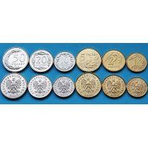 Польша набор 6 монет 2012 г.