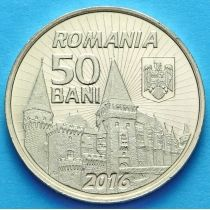 Румыния 50 бань 2016 год. Янку Хунедоара.