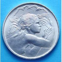 Сан Марино 1000 лир 1979 г. Объединение Европы. Серебро.