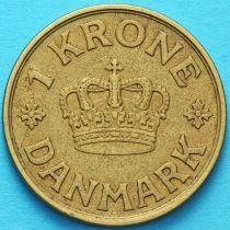 Дания 1 крона 1938 год.