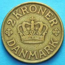 Дания 2 кроны 1925 год.