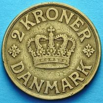 Дания 2 кроны 1926 год.