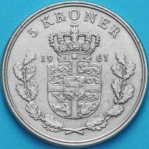 Дания 5 крон 1961 год.
