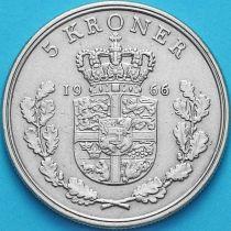 Дания 5 крон 1966 год.