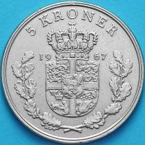 Дания 5 крон 1967 год.