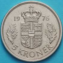 Дания 5 крон 1975-1977 год.