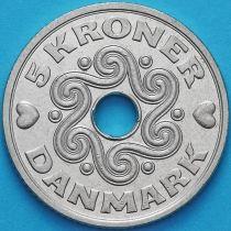 Дания 5 крон 1995 год