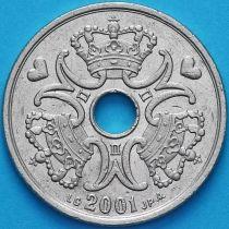 Дания 5 крон 2001 год