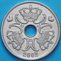 Дания 5 крон 2002 год