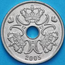 Дания 5 крон 2005 год
