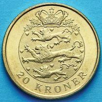 Дания 20 крон 2007 год. Маргарет II.