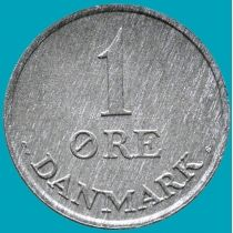 Дания 1 эре 1969 год.