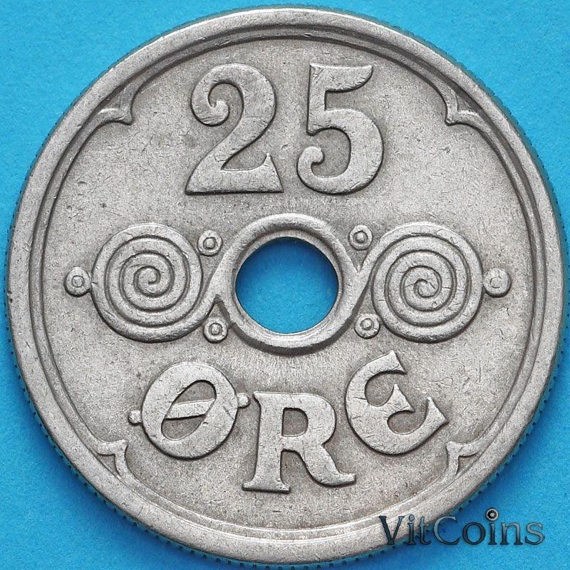 Монета Дания 25 эре 1926 год.