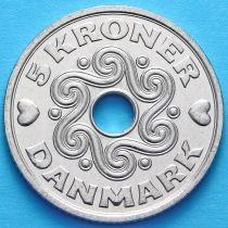 Дания 5 крон 1995-2013 год