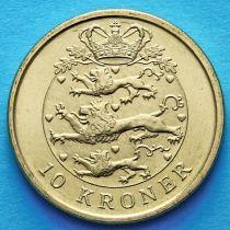 Дания 10 крон 2006-2008 год.