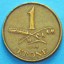 Дания 1 крона 1942-1947 год.
