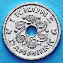 Дания 1 крона 2000-2013 год.