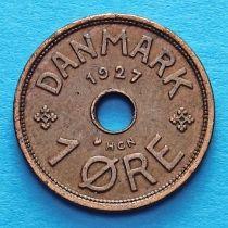 Дания 1 эре 1927-1939 год.