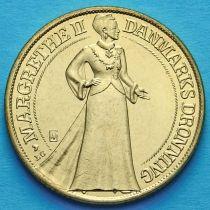 Дания 20 крон 1997 год. 25 лет правлению Королевы.