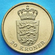 Дания 20 крон 2011 год.