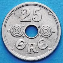 Дания 25 эре 1937 год.