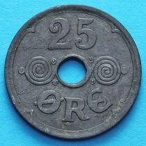 Дания 25 эре 1945 год.