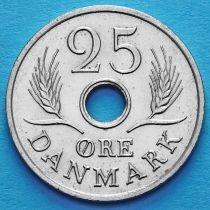 Дания 25 эре 1967-1972 год.