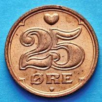 Дания 25 эре 1990-2008 год.