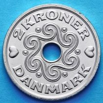 Дания 2 кроны 2000-2013 год.