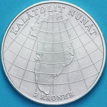 Дания 2 кроны 1953 год. Кампания против туберкулёза в Гренландии. Серебро.