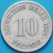 Германия 10 пфеннигов 1896 год. D.