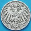 Монета Германия 10 пфеннигов 1898 год. F.