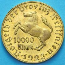 Германия 10000 марок 1923 год. Нотгельд Вестфалия. №2