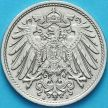 Монета Германия 10 пфеннигов 1907 год. J.